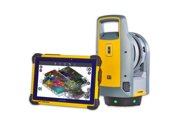 trimble field link scanning