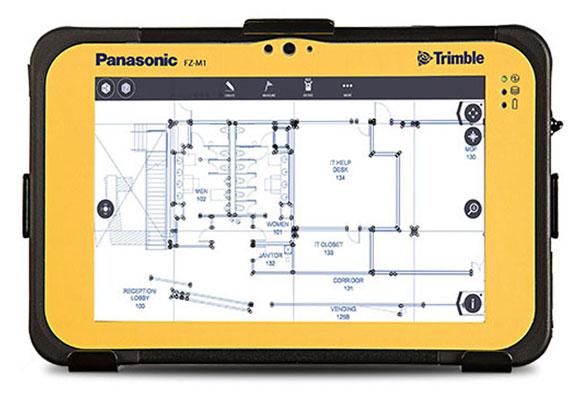 trimble fz-m1 tablet