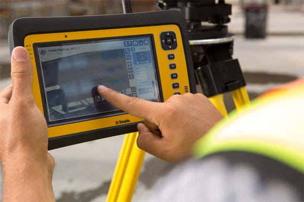 trimble field link on tablet