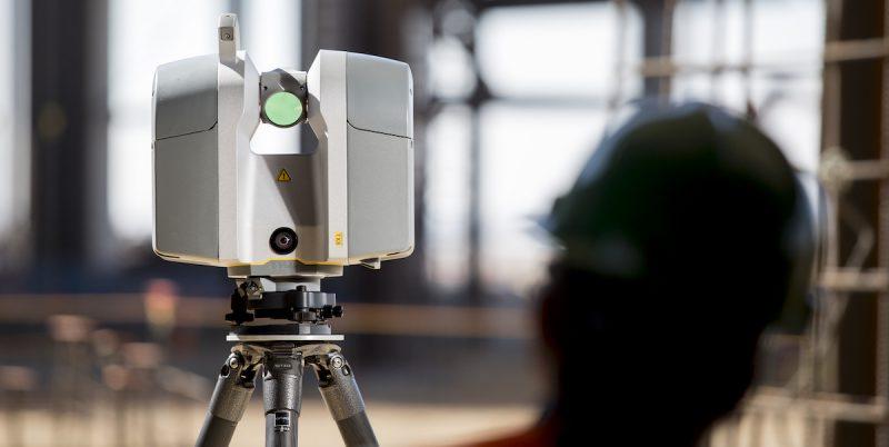 Trimble 3D laser scanner - Tx8