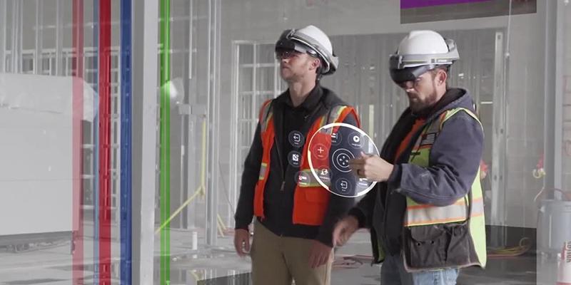 Le casque HoloLens de Trimble améliore le travail d'équipe